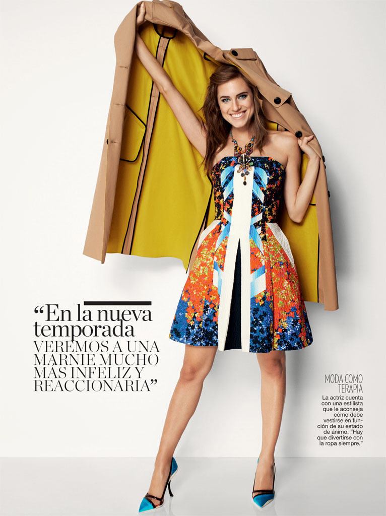 allison williams5 Allison Williams Poses for Blossom Berkofsky in Glamour Spain