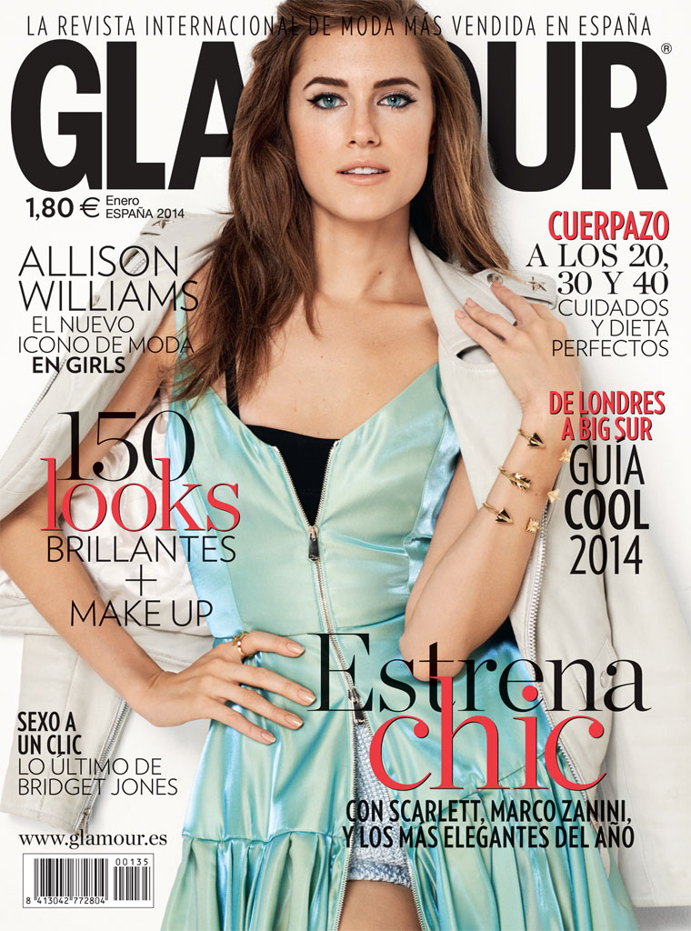 allison williams6 Allison Williams Poses for Blossom Berkofsky in Glamour Spain