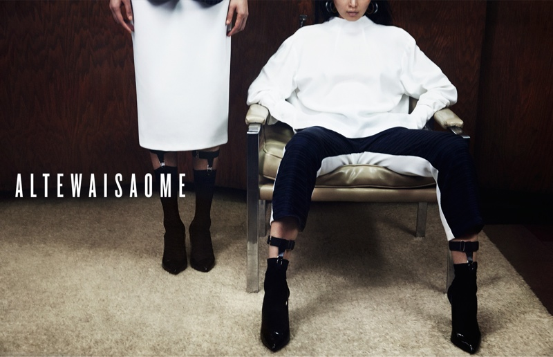 altewaisaome spring 2014 campaign2 Sung Hee Kim + Feng Qi Wen Front ALTEWAISAOME Spring/Summer 2014 Campaign