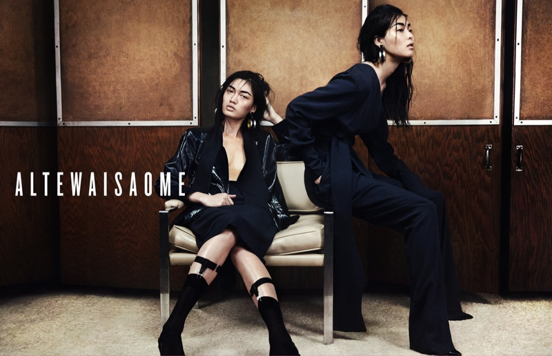 altewaisaome spring 2014 campaign3 Sung Hee Kim + Feng Qi Wen Front ALTEWAISAOME Spring/Summer 2014 Campaign