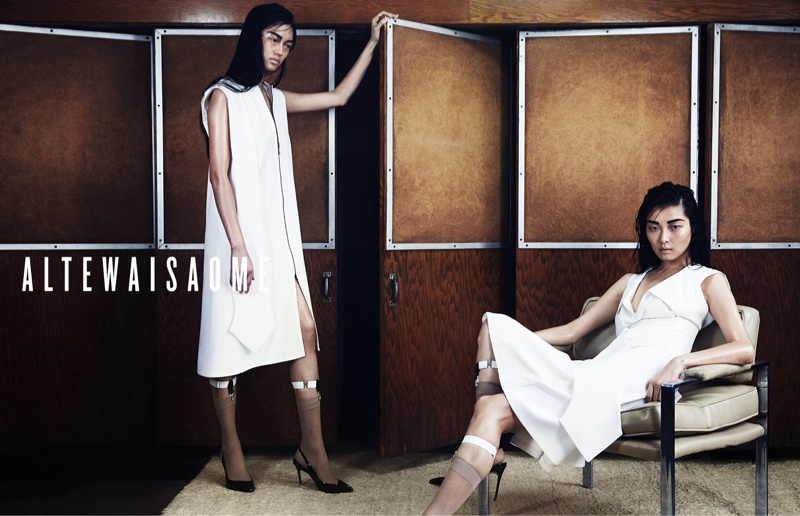 Sung Hee Kim + Feng Qi Wen Front ALTEWAISAOME Spring/Summer 2014 Campaign