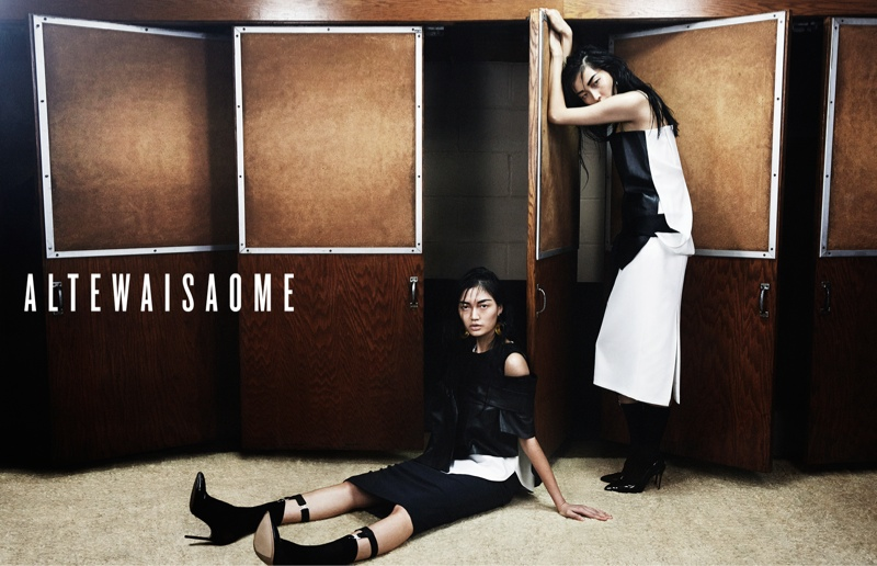 altewaisaome spring 2014 campaign6 Sung Hee Kim + Feng Qi Wen Front ALTEWAISAOME Spring/Summer 2014 Campaign