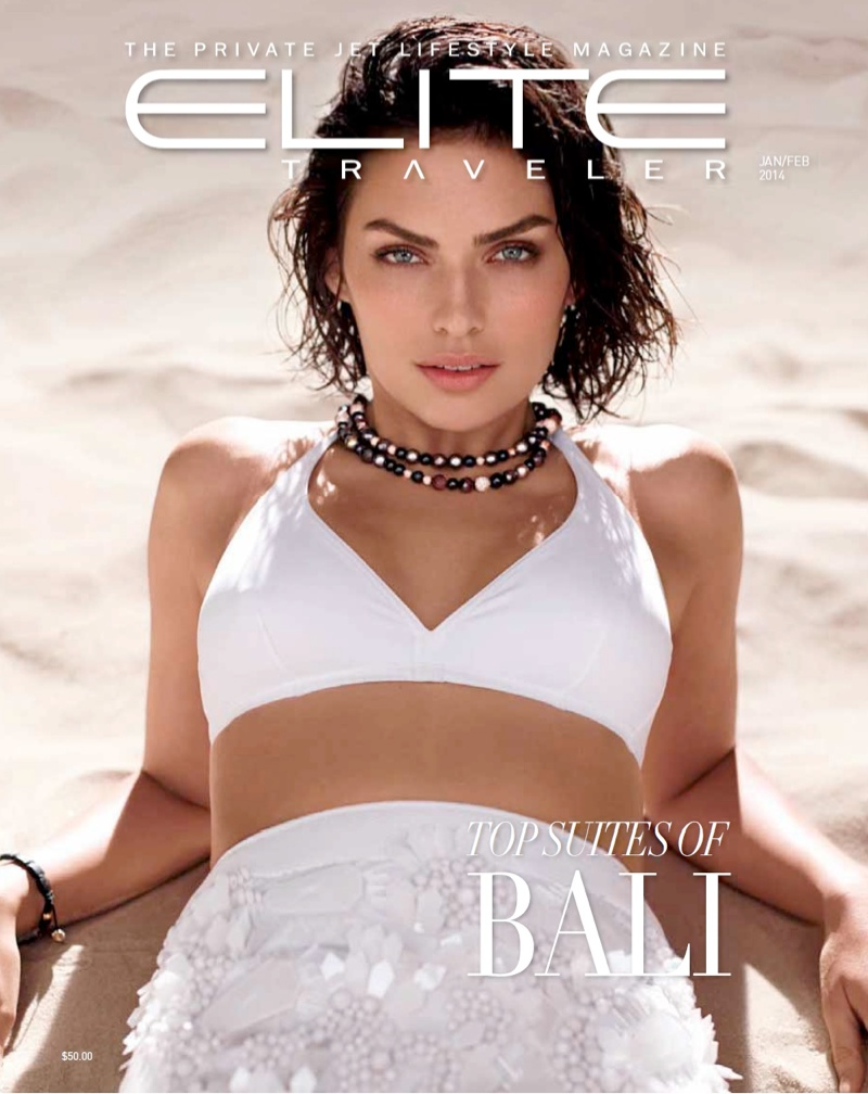 alyssa miller swimwear1 Alyssa Miller Stuns in Swimwear Looks for Elite Traveler Spread