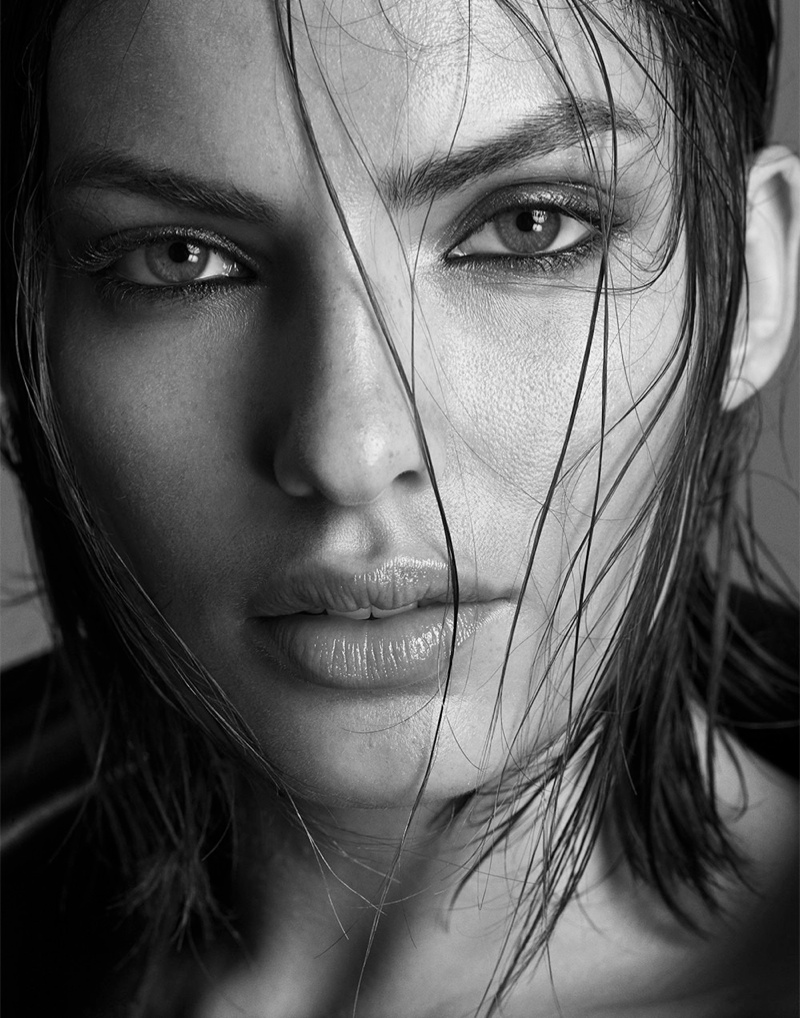 alyssa photo shoot3 Alyssa Miller Smolders for Hong Jang Hyun in Singles Korea Feature