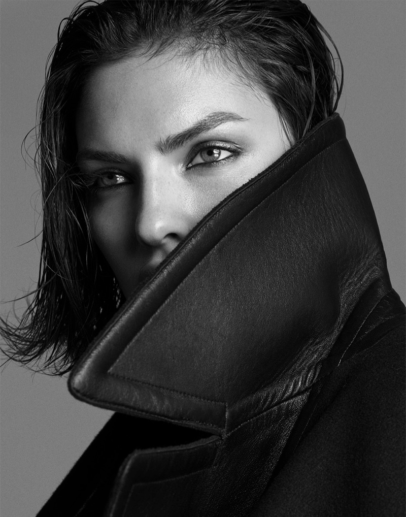 alyssa photo shoot4 Alyssa Miller Smolders for Hong Jang Hyun in Singles Korea Feature
