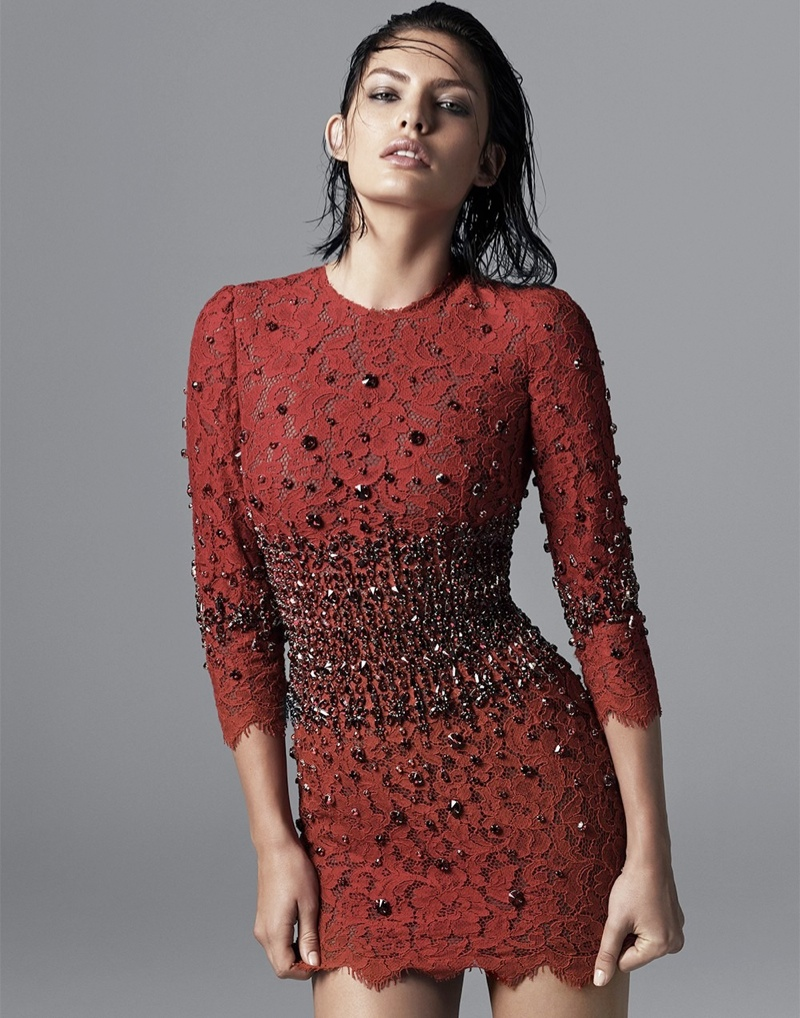 alyssa photo shoot5 Alyssa Miller Smolders for Hong Jang Hyun in Singles Korea Feature