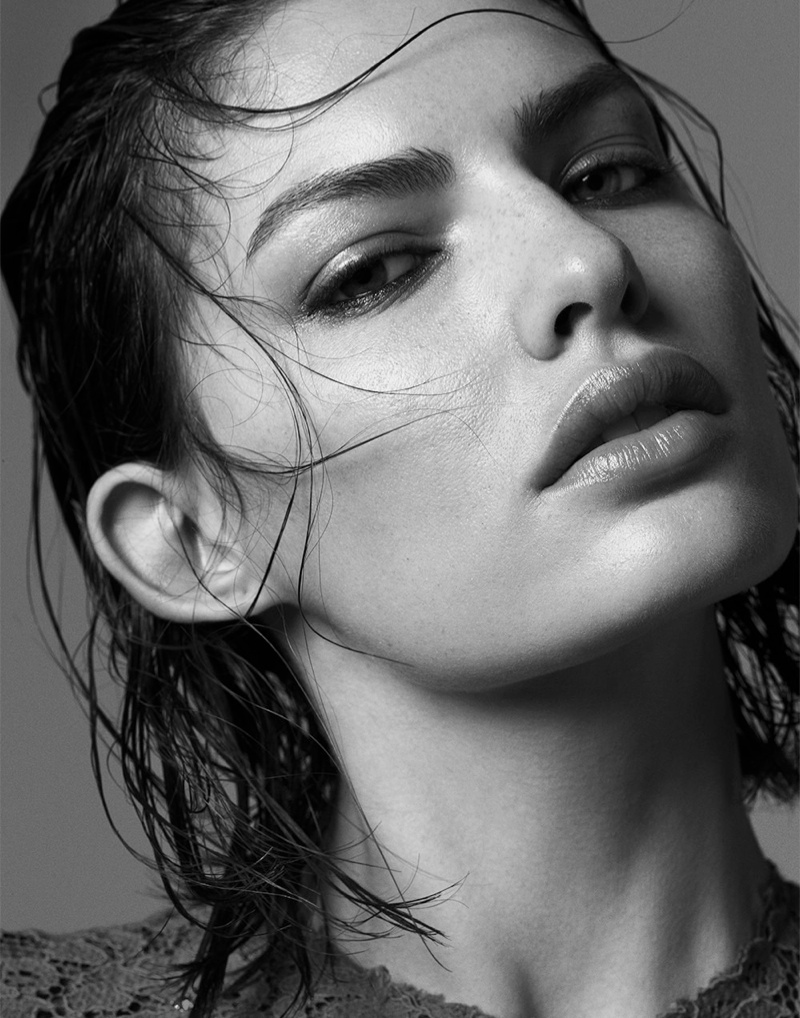 alyssa photo shoot6 Alyssa Miller Smolders for Hong Jang Hyun in Singles Korea Feature