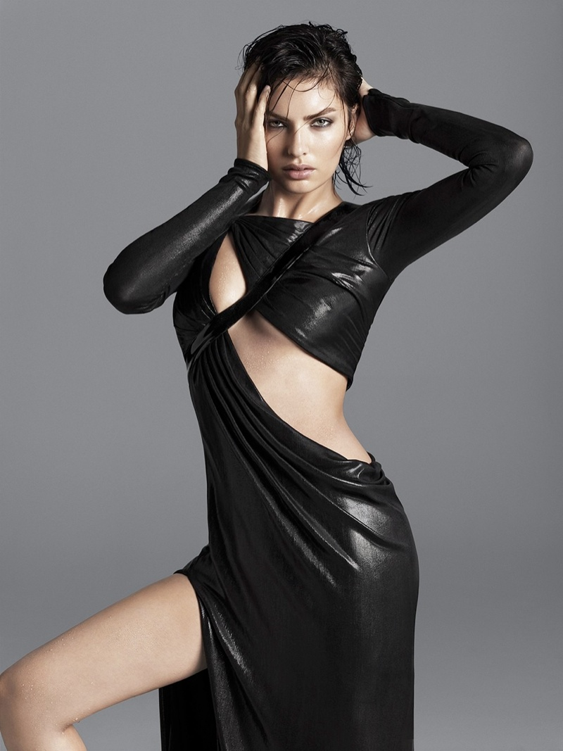 alyssa photo shoot7 Alyssa Miller Smolders for Hong Jang Hyun in Singles Korea Feature