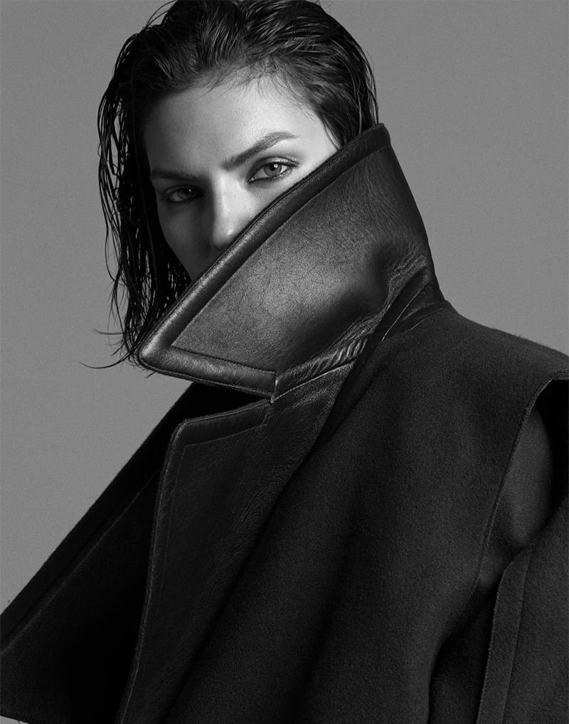 alyssa photo shoot8 Alyssa Miller Smolders for Hong Jang Hyun in Singles Korea Feature