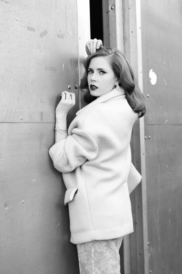 amy adams lofficiel Amy Adams Covers LOfficel Paris February 2014 in Miu Miu