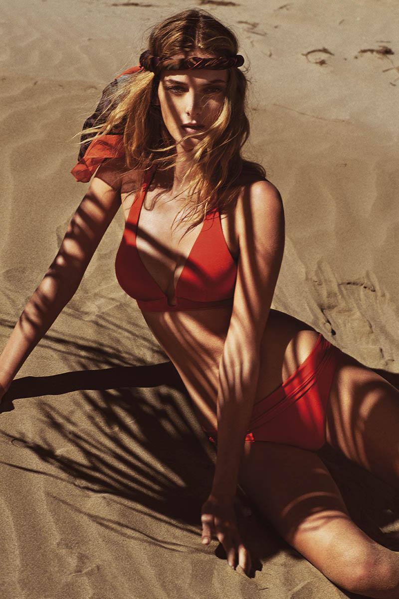 andres sarda swimwear spring 2014 11 Denisa Dvorakova Wows in Andres Sarda Swimwear Spring 2014 Campaign