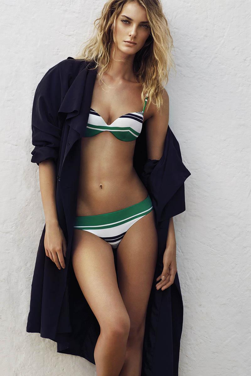 andres sarda swimwear spring 2014 12 Denisa Dvorakova Wows in Andres Sarda Swimwear Spring 2014 Campaign