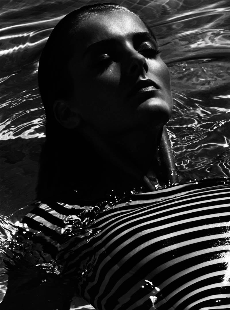 andres sarda swimwear spring 2014 14 Denisa Dvorakova Wows in Andres Sarda Swimwear Spring 2014 Campaign