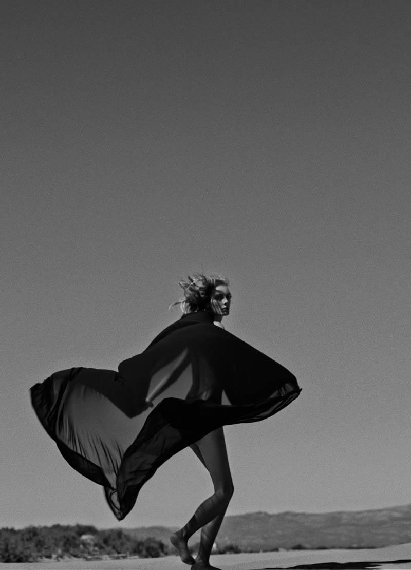 Denisa Dvorakova Wows in Andres Sarda Swimwear Spring 2014 Campaign