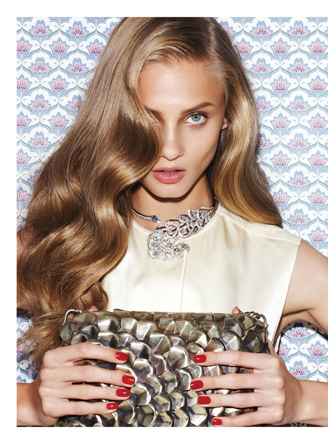 anna selezneva photo shoot11 Anna Selezneva Models Spring Style for Vogue Latin America Spread