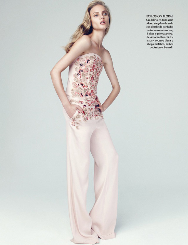 anna selezneva photo shoot2 Anna Selezneva Models Spring Style for Vogue Latin America Spread