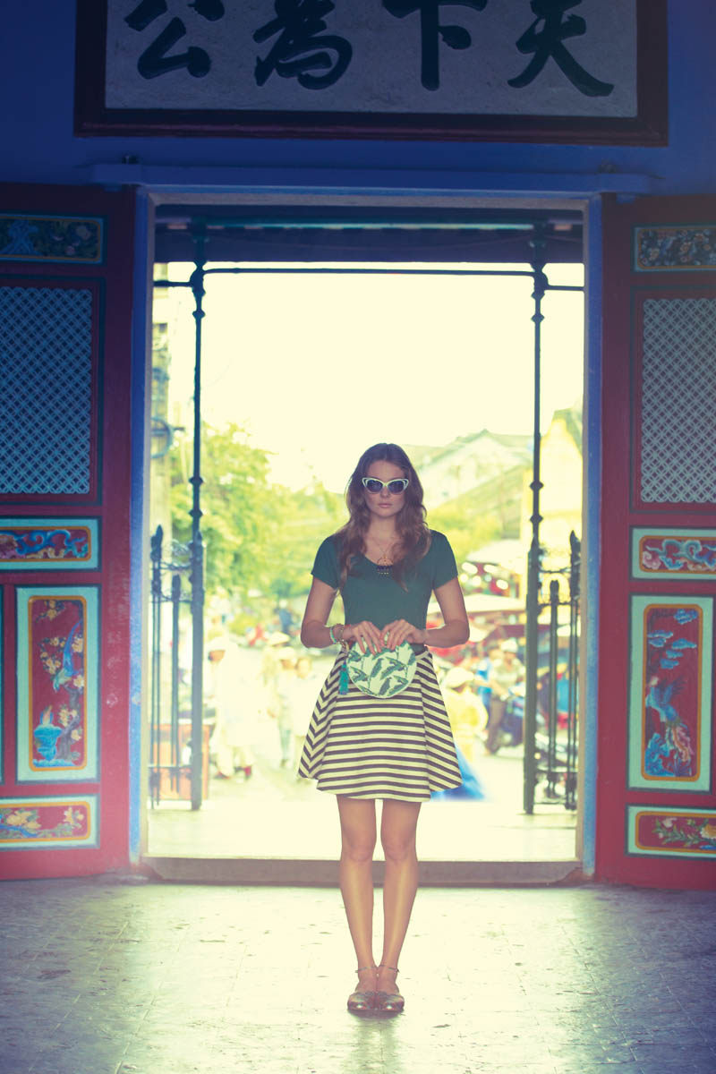 anthropologie catalog 7 Eniko Mihalik Poses in Vietnam for Anthropologie Shoot by Diego Uchitel
