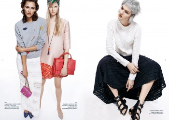 Kirsi, Vika + Anna Model Spring Looks for Alexx and Anton in Apropos Journal