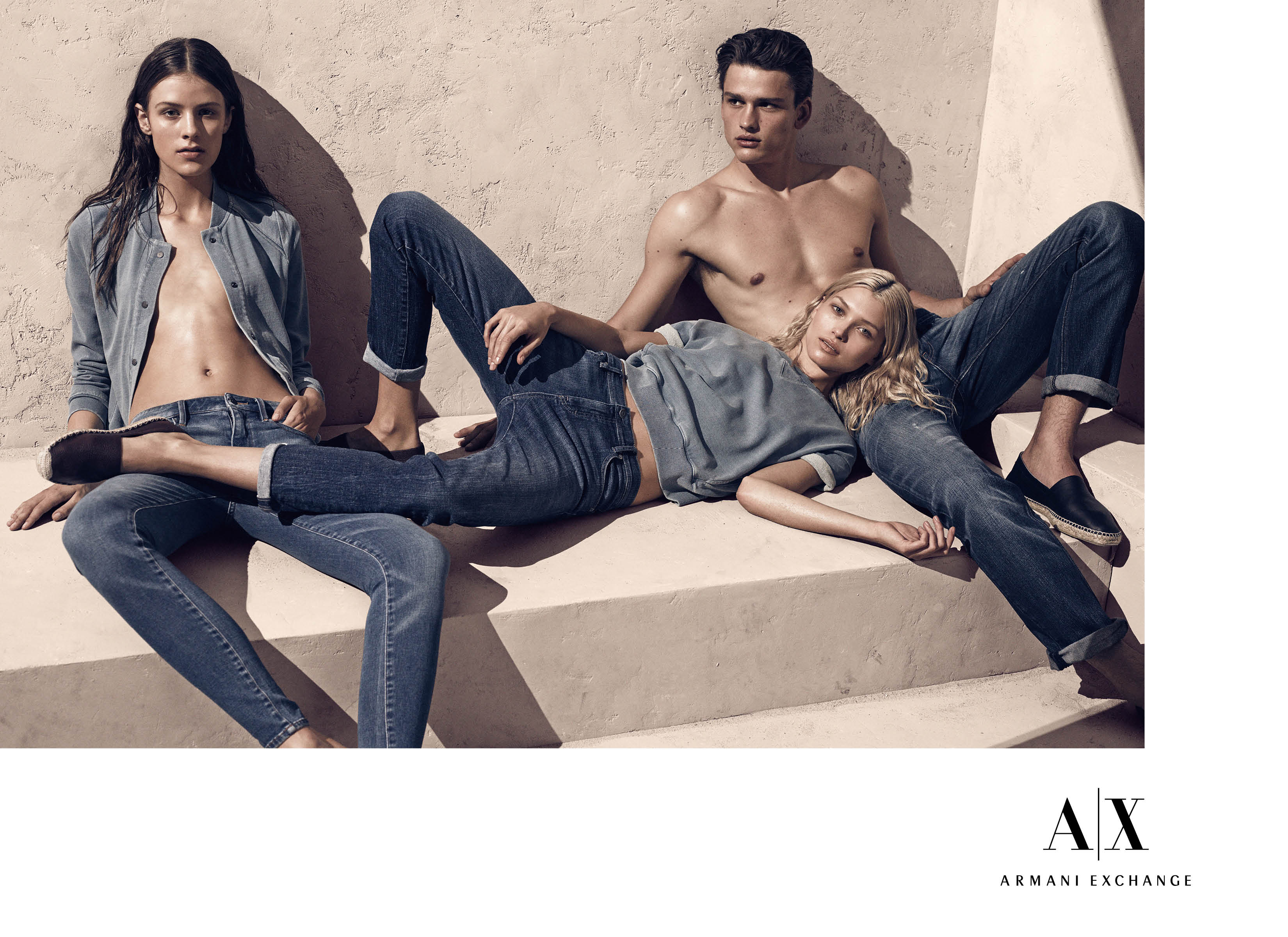First Look | Armani Exchange Spring/Summer 2014 Campaign