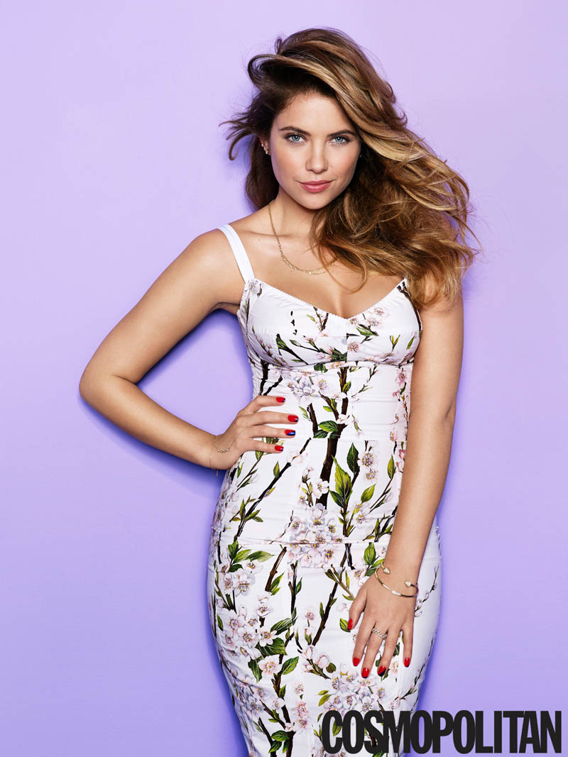 ashley benson cosmopolitan2 Ashley Benson Covers Cosmopolitan, Speaks on Pressure to Go Nude