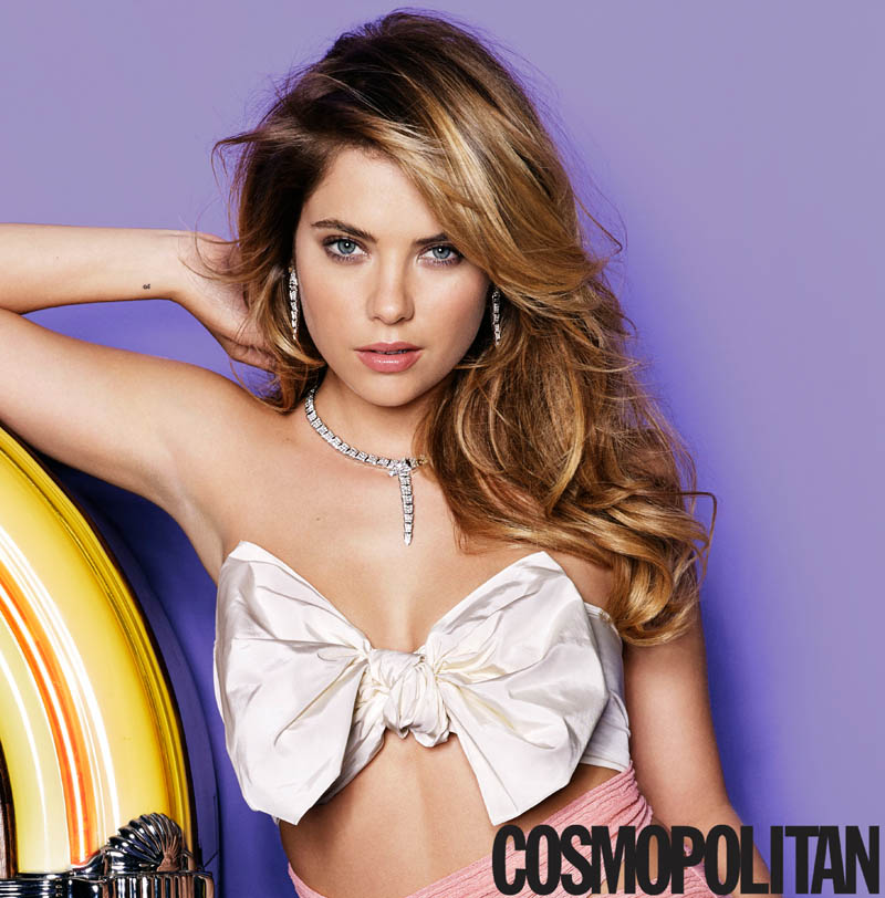 ashley benson cosmopolitan3 Ashley Benson Covers Cosmopolitan, Speaks on Pressure to Go Nude