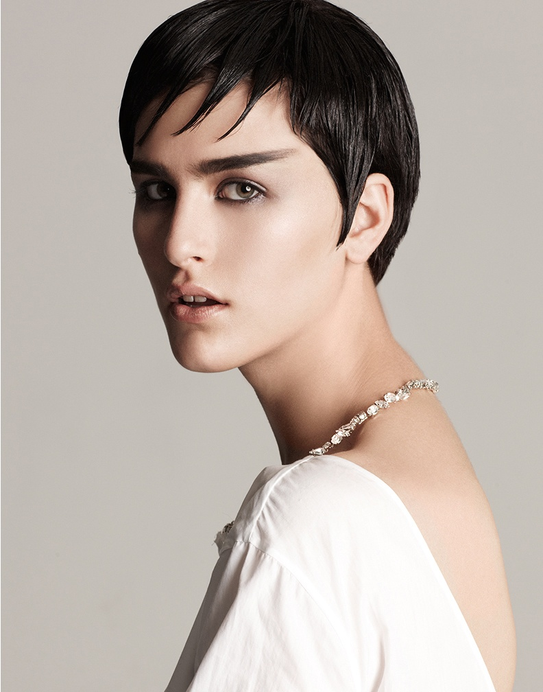 athena white fashion1 Athena Wilson Gets Minimal for Manolo Campion in Harpers Bazaar Latin America
