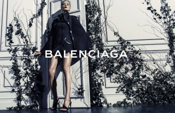 More Photos of Daria Werbowy in Balenciaga's Spring Ads
