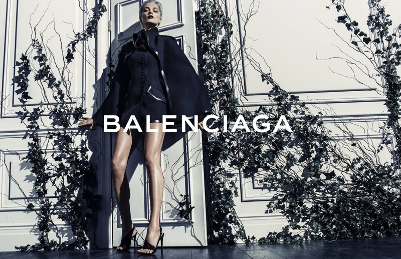 balenciaga daria werbowy photos1 More Photos of Daria Werbowy in Balenciagas Spring Ads