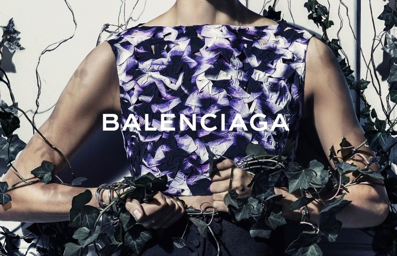 balenciaga daria werbowy photos2 More Photos of Daria Werbowy in Balenciagas Spring Ads