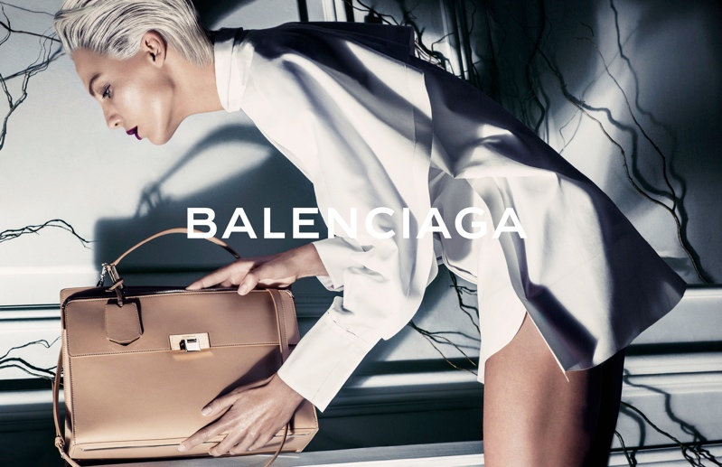 balenciaga daria werbowy photos5 More Photos of Daria Werbowy in Balenciagas Spring Ads