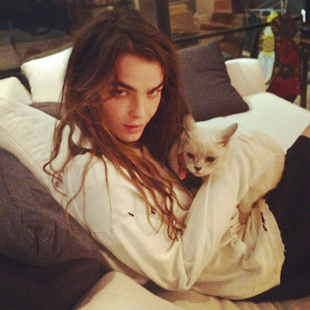 bambi cat Instagram Photos of the Week | Toni Garrn, Bar Refaeli, Behati Prinsloo + More