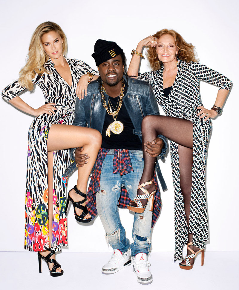 bar dvf wale Bar Refaeli & Diane von Furstenberg Pose for Terry Richardson