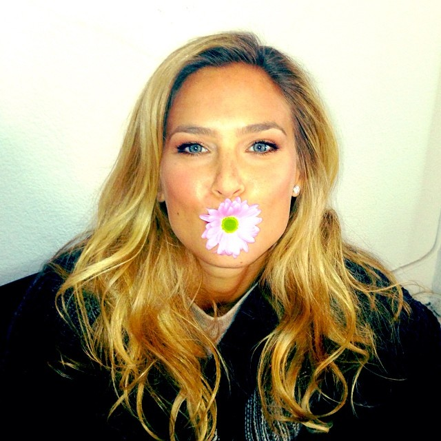 bar flower Instagram Photos of the Week | Candice Swanepoel, Joan Smalls, Constance Jablonski + More