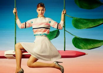 Barbara Palvin Stars in Lily China Spring 2014 Campaign