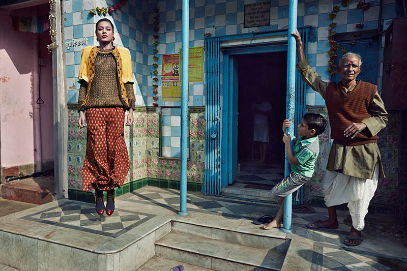 bazaar india 1 Colston Julian Captures Pallavi Singh for Harpers Bazaar India