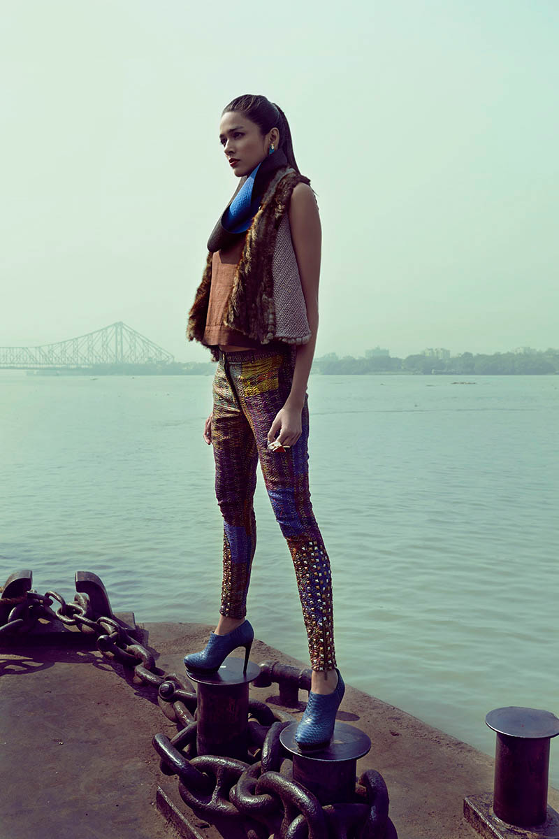 bazaar india 10 Colston Julian Captures Pallavi Singh for Harpers Bazaar India