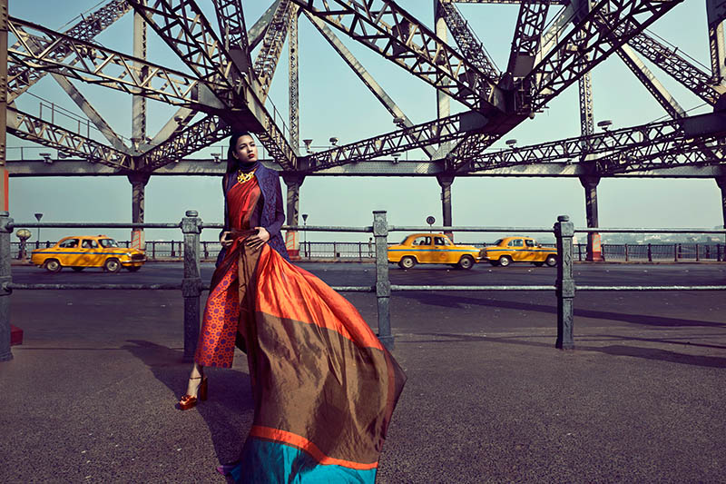 bazaar india 3 Colston Julian Captures Pallavi Singh for Harpers Bazaar India