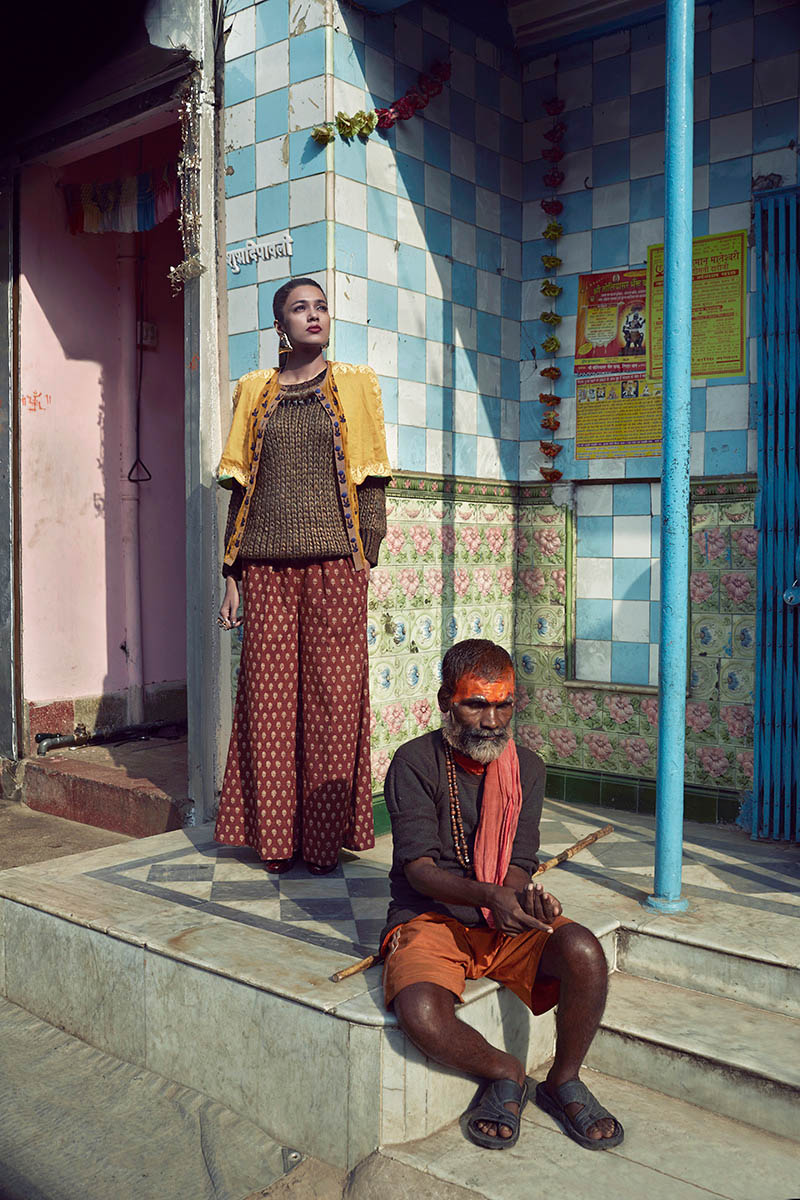 bazaar india 7 Colston Julian Captures Pallavi Singh for Harpers Bazaar India