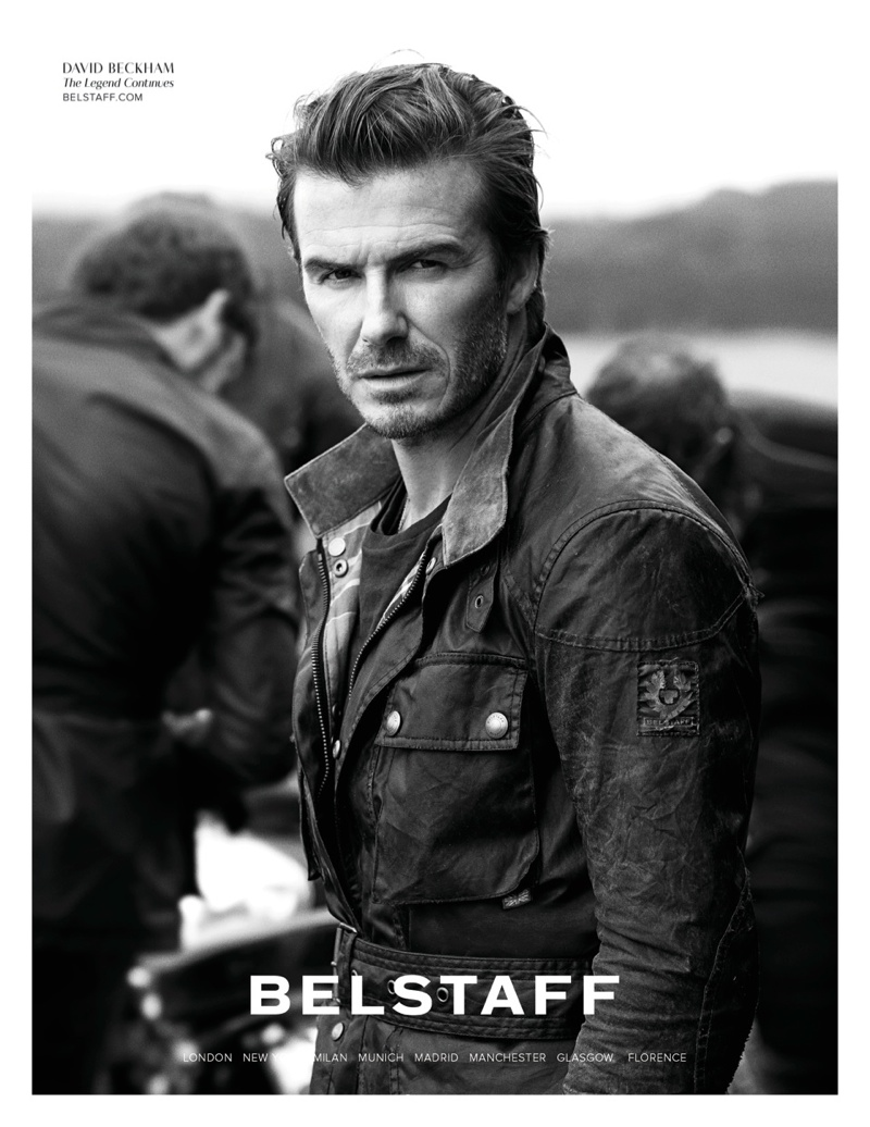 belstaff spring 2014 campaign6 Andreea Diaconu & David Beckham for Belstaff Spring 2014 Campaign by Peter Lindbergh