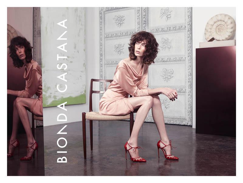 bionda castana spring 2014 campaign1 Kristina Salinovic Lands Bionda Castana Spring 2014 Campaign