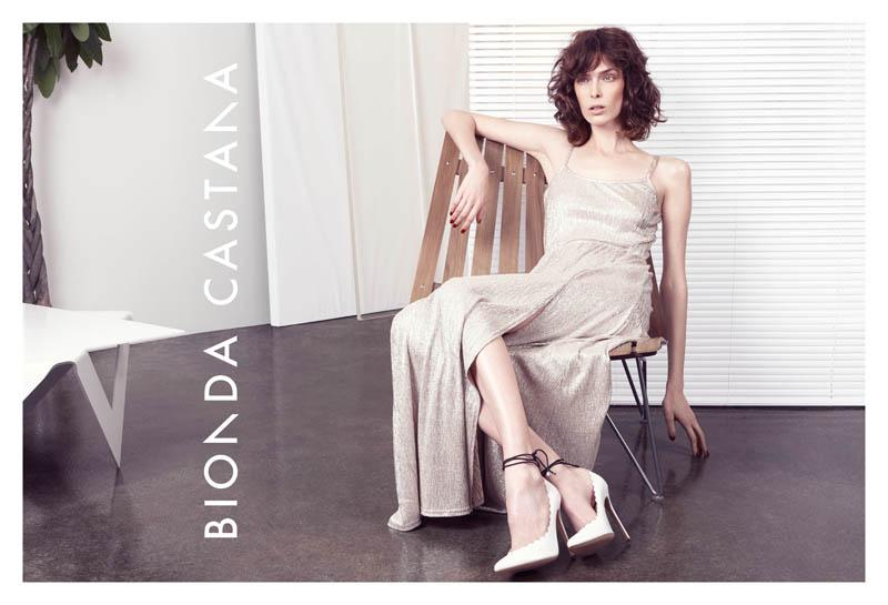 bionda castana spring 2014 campaign7 Kristina Salinovic Lands Bionda Castana Spring 2014 Campaign