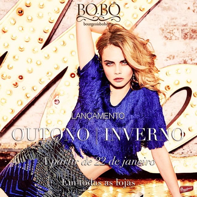 bobo cara preview First Look | Cara Delevingne for BO.BÔ Fall/Winter 2014 Campaign