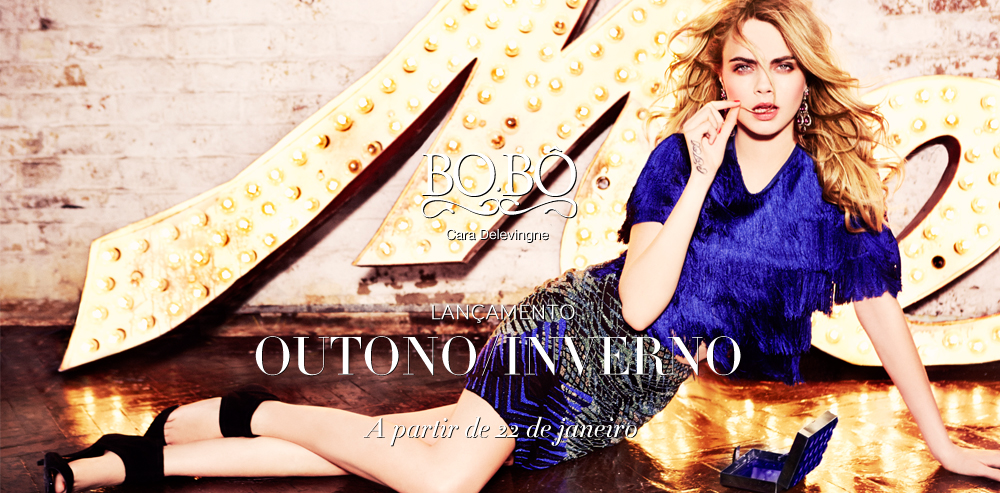 First Look | Cara Delevingne for BO.BÔ Fall/Winter 2014 Campaign
