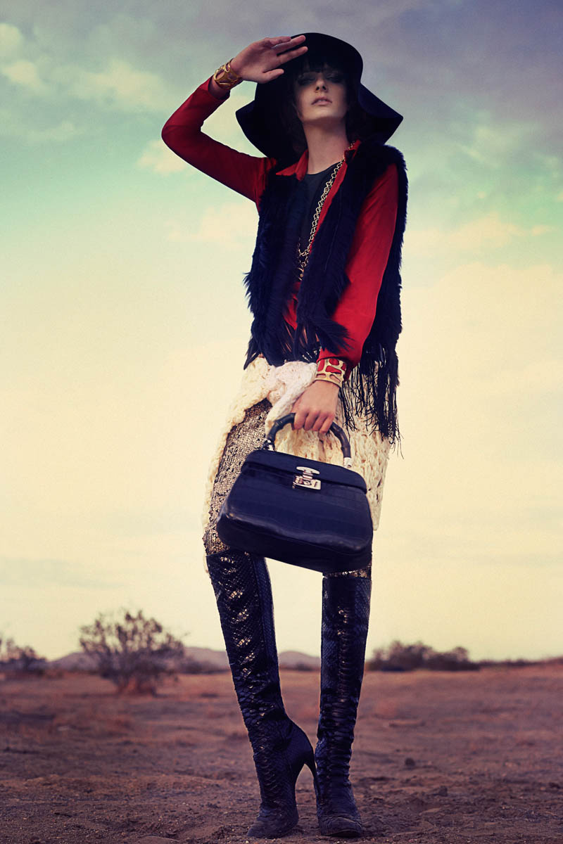 bohemian marie claire8 Lauren Switzer is Bohemian Chic for Marie Claire Latin America by Vladimir Martí