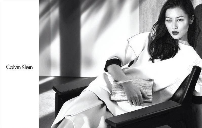 Liu Wen Fronts Calvin Klein Platinum Spring/Summer 2014 Campaign