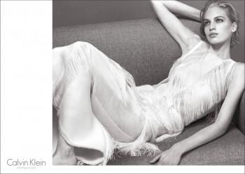 Vanessa Axente Fronts Calvin Klein Spring/Summer 2014 Campaign