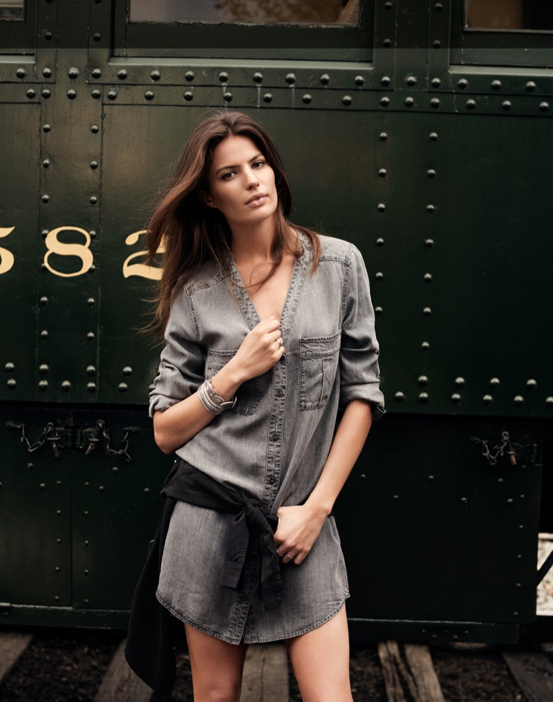 cameron russell model 10 Cameron Russell is Western Chic for H&M Shoot by David Roemer