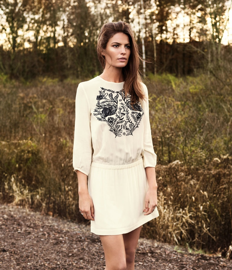 cameron russell model 11 Cameron Russell is Western Chic for H&M Shoot by David Roemer