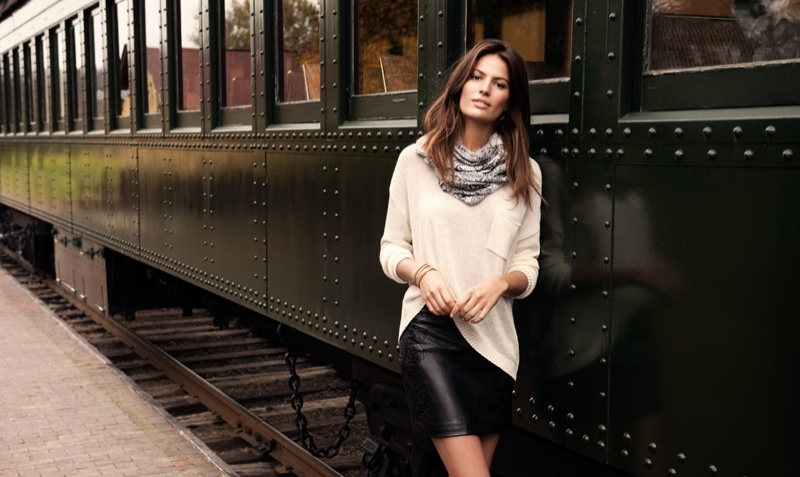 cameron russell model 8 Cameron Russell is Western Chic for H&M Shoot by David Roemer