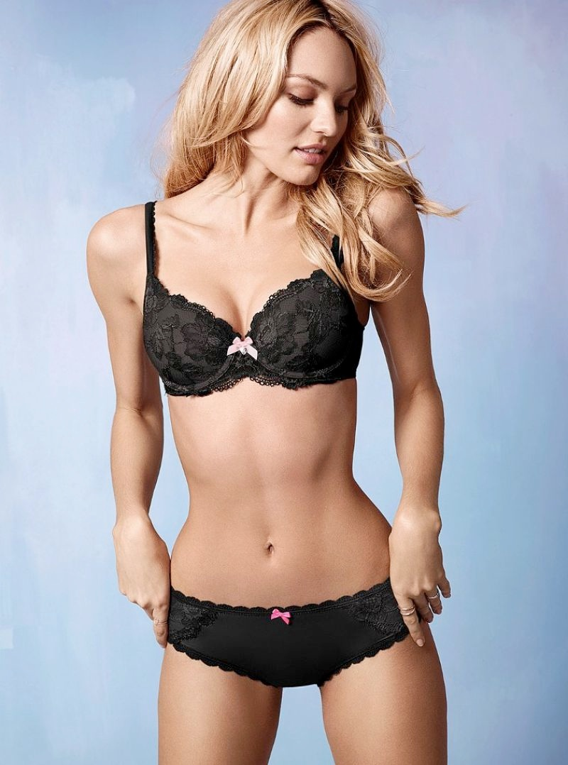 candice victorias secret photos2 Candice Swanepoel is Sweet & Sexy in Victorias Secret Photos